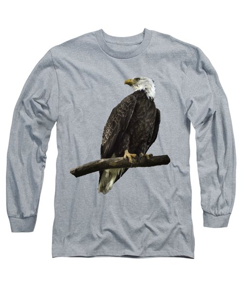 Bald Eagle Transparency Long Sleeve T-Shirt