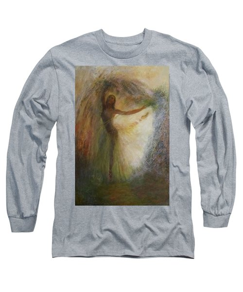 Ballet Dancer's Silhouette Long Sleeve T-Shirt