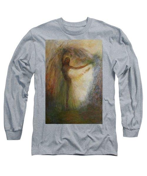 Ballet Dancer's Silhouette Long Sleeve T-Shirt
