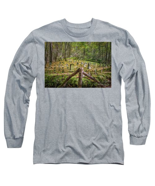 Bales Cemetery Long Sleeve T-Shirt by Patrick Shupert
