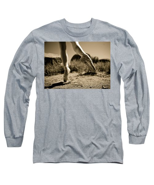 Ballet Pointe Long Sleeve T-Shirt