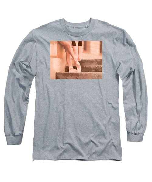 Ballet Shoes Long Sleeve T-Shirt