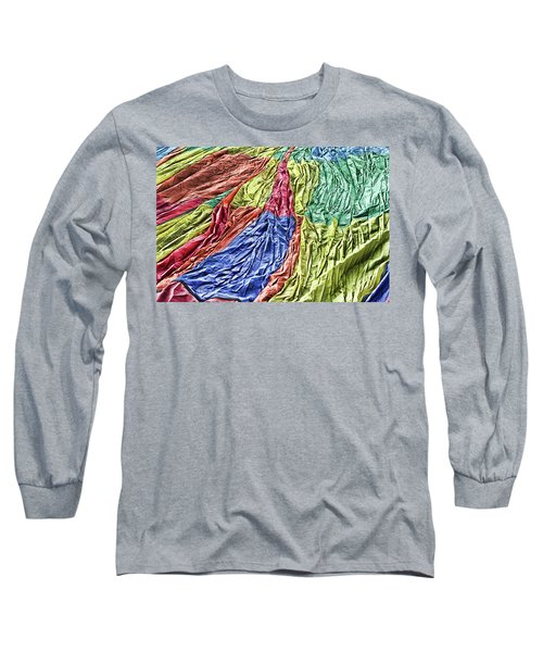 Balloon Abstract 1 Long Sleeve T-Shirt by Marie Leslie