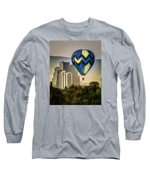 Balloon Over Reno Long Sleeve T-Shirt