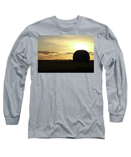 Long Sleeve T-Shirt featuring the photograph Balloonrise by Marie Leslie