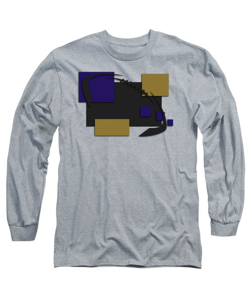 Baltimore Ravens Abstract Shirt Long Sleeve T-Shirt