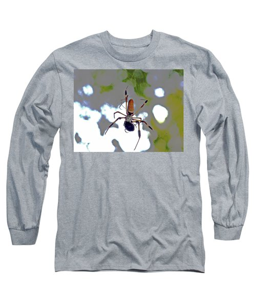 Banana Spider Lunch Time 1 Long Sleeve T-Shirt
