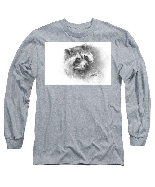 Bandit The Raccoon Long Sleeve T-Shirt