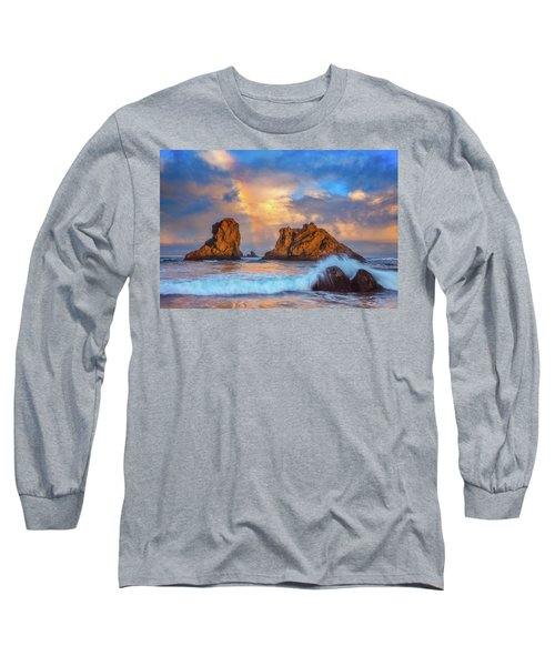 Bandon Rainbow Long Sleeve T-Shirt by Darren White