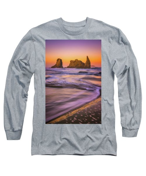 Long Sleeve T-Shirt featuring the photograph Bandon's Breath by Darren White