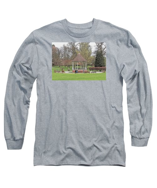 Bandstand Games Long Sleeve T-Shirt by Paul Gulliver