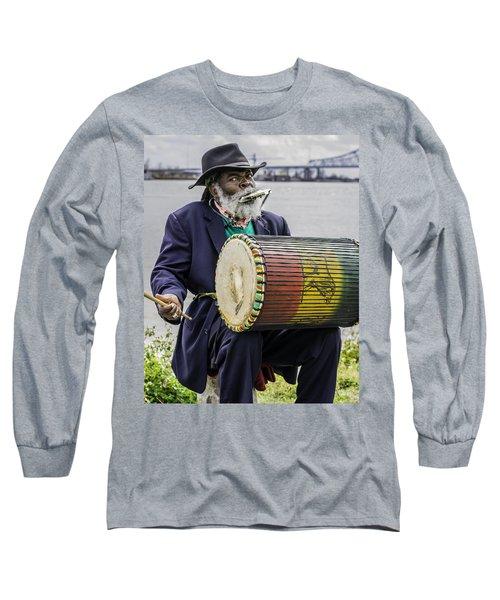 Bang That Drum Long Sleeve T-Shirt