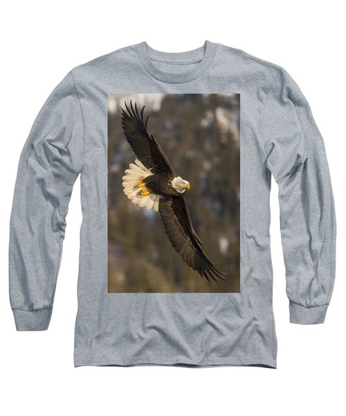 Banking Bald Eagle Long Sleeve T-Shirt