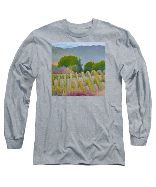 Barboursville Vineyards 1 Long Sleeve T-Shirt by Catherine Twomey