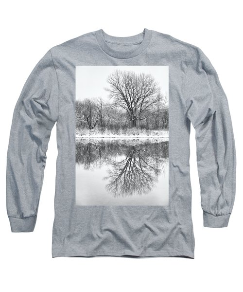 Long Sleeve T-Shirt featuring the photograph Bare Trees by Darren White