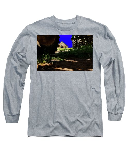 Barn From Under The Equipment Long Sleeve T-Shirt