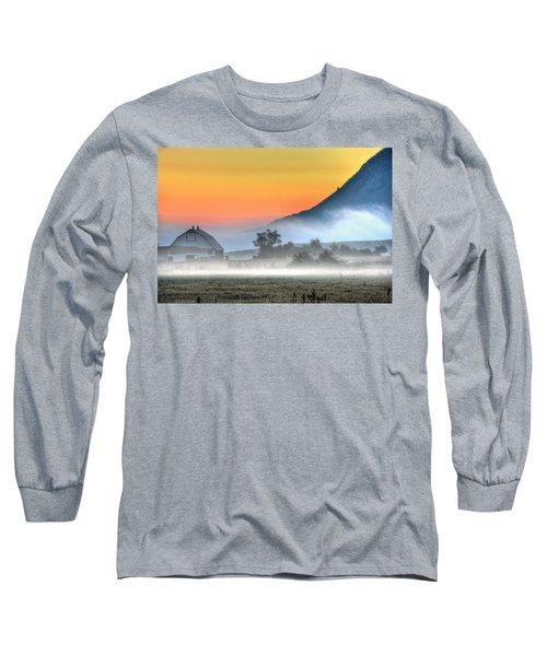 Barn Of Brigadoon Long Sleeve T-Shirt