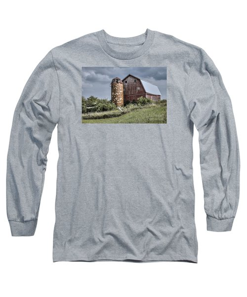 Barn On Hill Long Sleeve T-Shirt