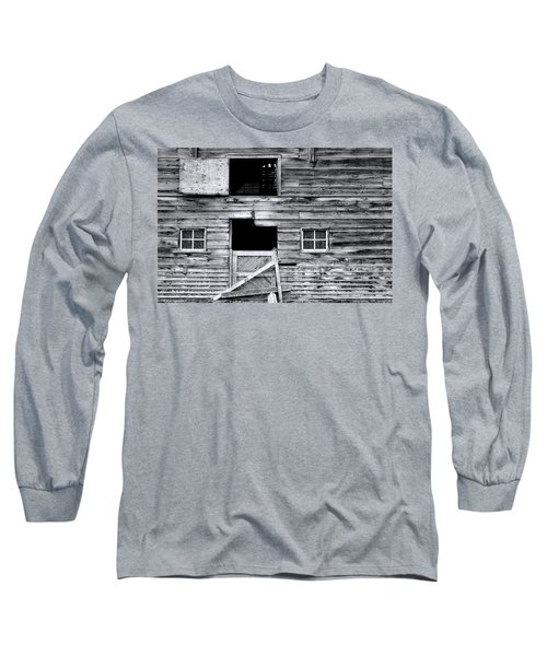 Barn Texture Long Sleeve T-Shirt