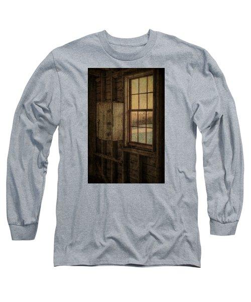 Barn Window Long Sleeve T-Shirt by Tom Singleton