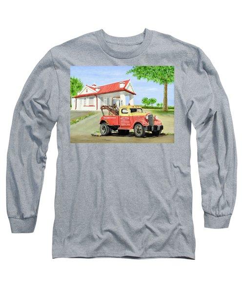 Barnett Garage Long Sleeve T-Shirt