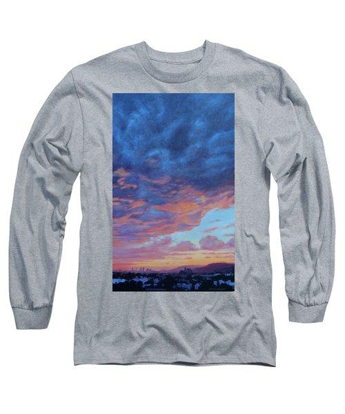 Barnsdall Hill Long Sleeve T-Shirt by Andrew Danielsen
