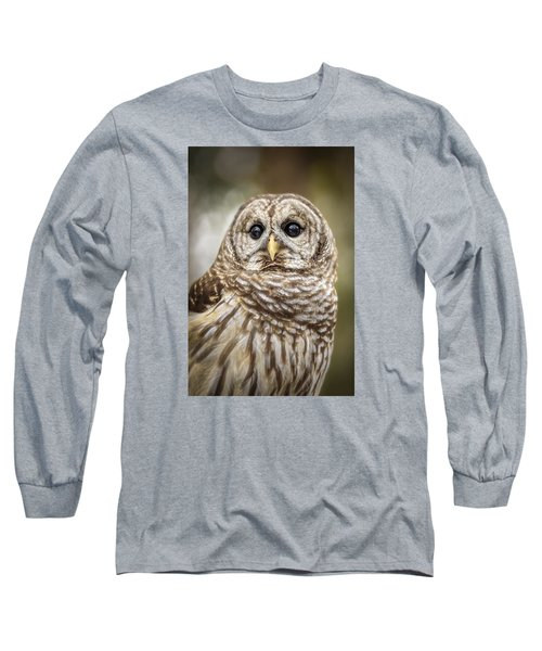 Long Sleeve T-Shirt featuring the photograph Hoot by Steven Sparks