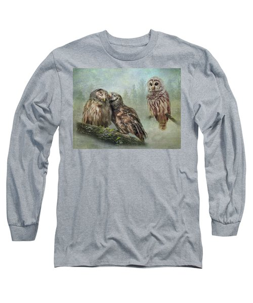 Barred Owls - Steal A Kiss Long Sleeve T-Shirt