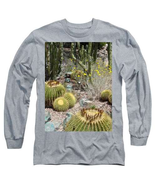 Barrels And Barrels Of Cactus Long Sleeve T-Shirt
