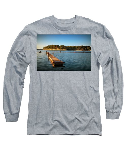 Barren River Lake Dock Long Sleeve T-Shirt