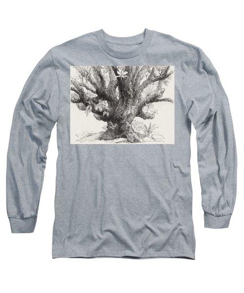 Barringtonia Tree Long Sleeve T-Shirt