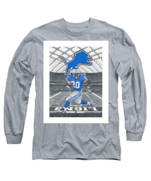 Barry Sanders Long Sleeve T-Shirt