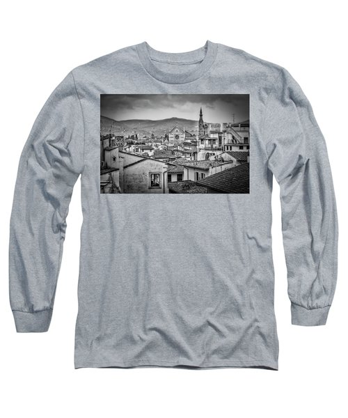 Long Sleeve T-Shirt featuring the photograph Basilica Di Santa Croce by Sonny Marcyan