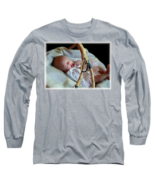 Basket Baby Long Sleeve T-Shirt by Ellen O'Reilly