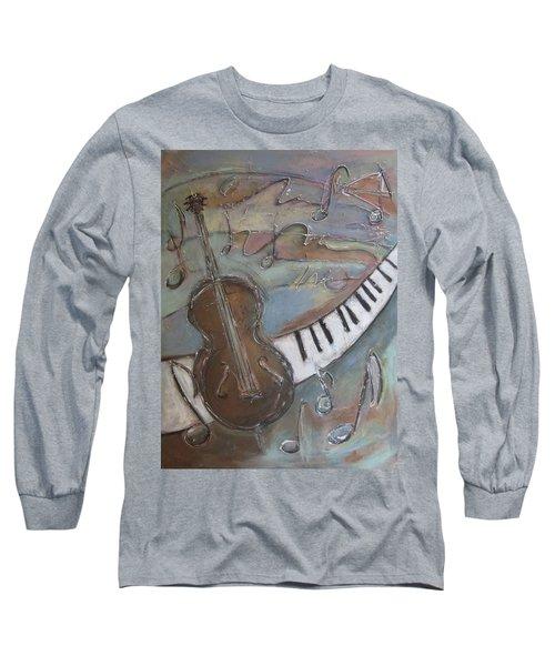 Bass And  Keys Long Sleeve T-Shirt
