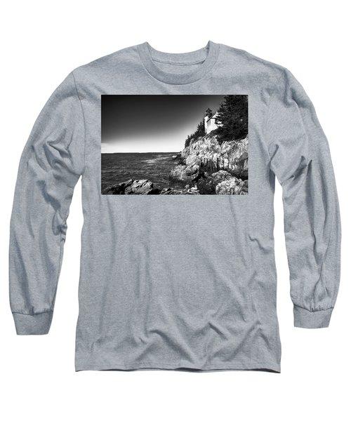 Bass Harbor Head Lighthouse Long Sleeve T-Shirt