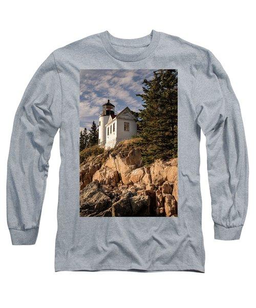 Bass Harbor Lighthouse Long Sleeve T-Shirt