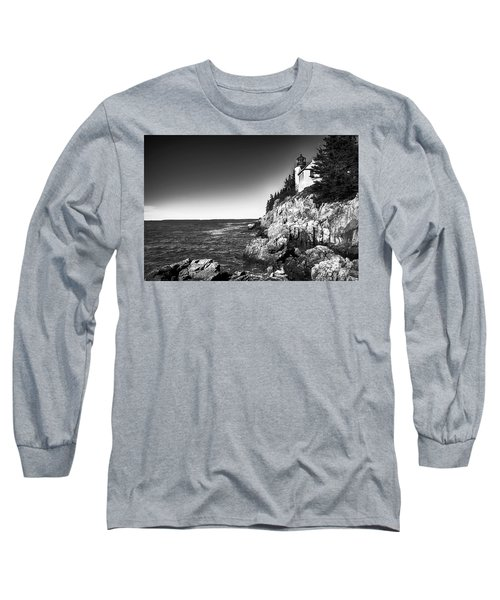 Bass Harbor Head Lighthouse Long Sleeve T-Shirt