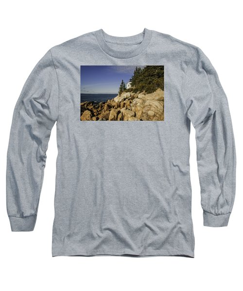 Bass Harbor Lighthouse Long Sleeve T-Shirt