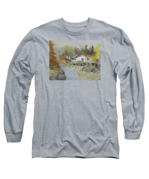 Bass Harbor Retreat Long Sleeve T-Shirt