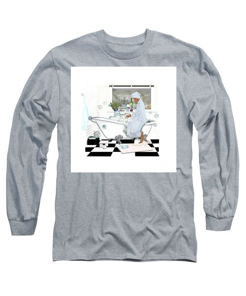 Bath And Wine With Style Long Sleeve T-Shirt