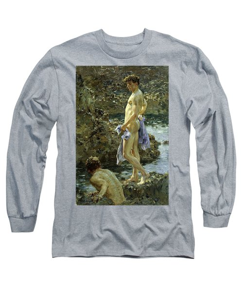Bathing Group Of 1914 Long Sleeve T-Shirt