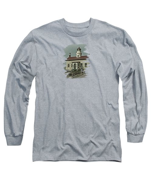 Battery Point Lighthouse Long Sleeve T-Shirt