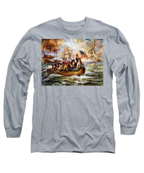 Battle Of Lake Erie - Remastered Long Sleeve T-Shirt