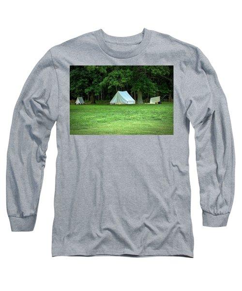 Battlefield Camp Long Sleeve T-Shirt