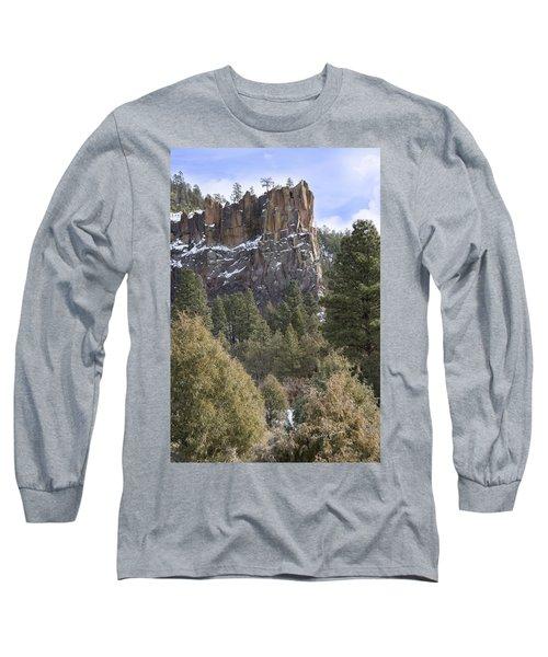 Battleship Rock Long Sleeve T-Shirt by Ricky Dean