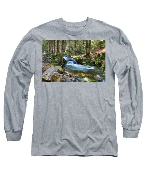 Bavarian Stream Long Sleeve T-Shirt by Sean Allen
