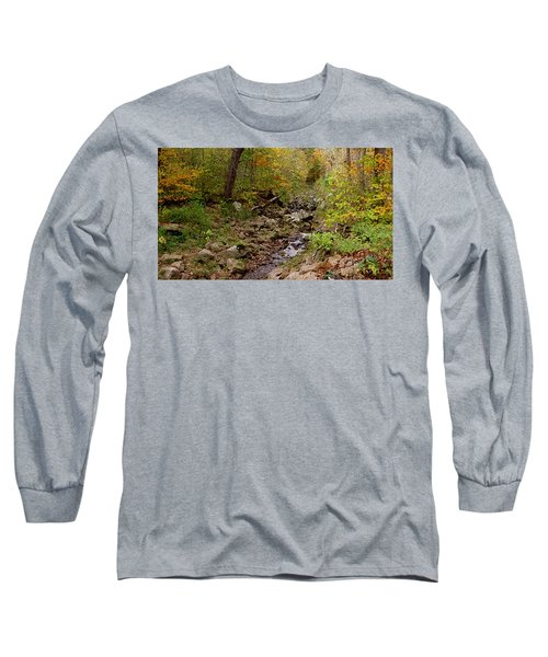 Long Sleeve T-Shirt featuring the photograph Baxter's Hollow II by Kimberly Mackowski