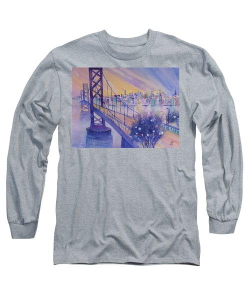 Bay Bridge San Francisco Long Sleeve T-Shirt