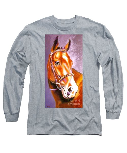 Oldenburg Sport Horse Champion Long Sleeve T-Shirt